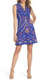 Foxiedox Artemesia Cutout Back Minidress at Nordstrom