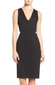 Fraiche by J Ponte Cutout Sheath Dress at Nordstrom