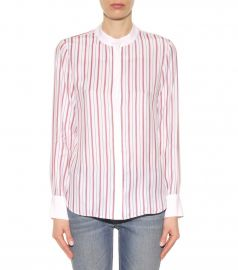 Frame Le Classic silk shirt at My Theresa