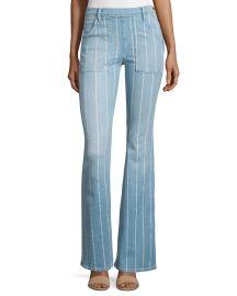 Frame Le Flare de Francoise Striped Jeans at Neiman Marcus