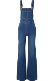 Frame Palazzo Denim Overalls at Net A Porter