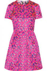 Frankie printed satin mini dress at The Outnet