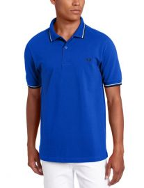 Fred Perry Double Tipped Polo at Amazon
