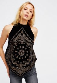 Free People Bandana Bling Tank at Free People