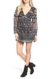 Free People   Cherry Blossom Mini Dress  at Nordstrom Rack