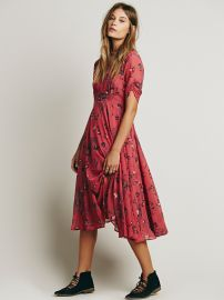 Free People  Bonnie Dress in Vintage Rose at Free People