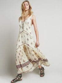 Free People  FP One Aphrodite Maxi Dress in ivory at Free People