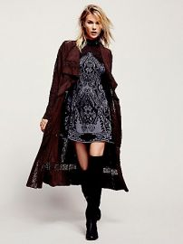 Free People  Honey Moon Suede Duster at Free People