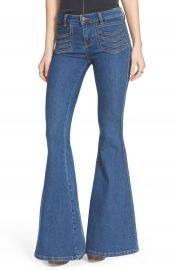 Free People  Stella  Flare Jeans at Nordstrom