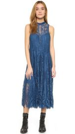 Free People Angel Rays Trapeze Midi Dress at Shopbop