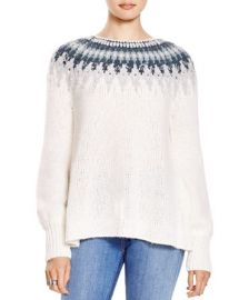 Free People Baltic Fair Isle Sweater at Bloomingdales