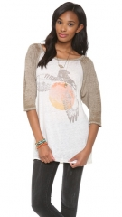 Free People Bandit Graphic Tee at Shopbop