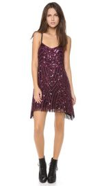 Free People Beaded Mesh Cocktail Dress at Shopbop