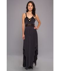 Free People Bonita Back Maxi Black at 6pm