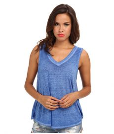 Free People Breezy Tank True Blue at 6pm