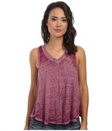 Free People Breezy Tank Wild Violet at 6pm