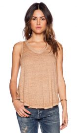 Free People Breezy Tank in Camel  REVOLVE at Revolve