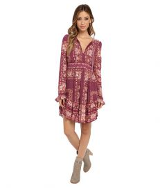 Free People Bridgette Mini Dress at 6pmcom at 6pm