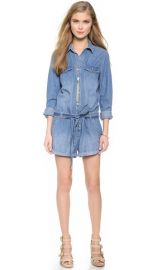 Free People Chambray Romper at Shopbop