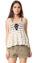 Free People Circles Within Circles Sweater Tank at Shopbop
