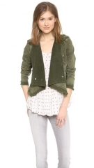 Free People Collapsing Twill Jacket at Shopbop