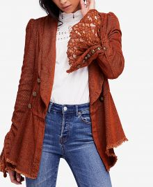 Free People Cotton Bell-Sleeve Corduroy Jacket at Macys