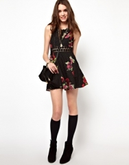 Free People Daisy Waist Dress at Asos
