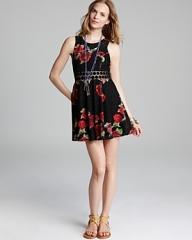 Free People Daisy Waist Dress at Bloomingdales
