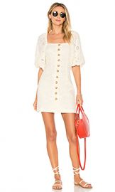 Free People Daniella Mini Dress in Cream from Revolve com at Revolve
