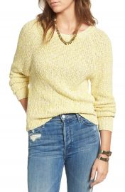 Free People Electric City Pullover Sweater at Nordstrom