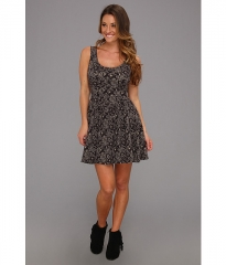 Free People Everyone Everywhere Dress Black Combo at 6pm