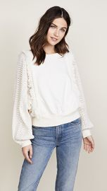 Free People Faff  amp  Fringe Pullover at Shopbop