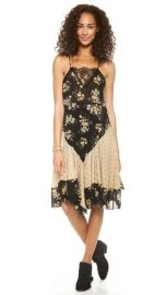 Free People Floral Flouncy Slip at Shopbop