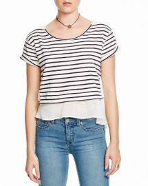 Free People French Kiss Striped Top at Bloomingdales