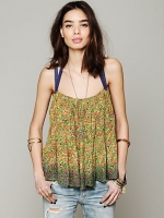 Free People Happy Blossoms tank on Awkward at Free People