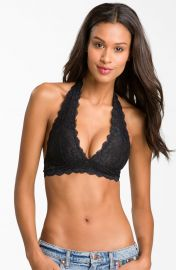 Free People Lace Halter Bra at Nordstrom