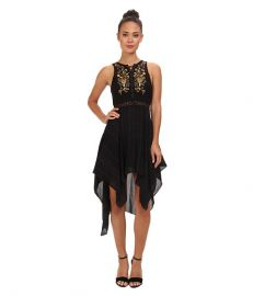 Free People Lace Me Up Dress Coal Combo at 6pm