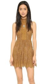 Free People Lace Verushka Mini Dress at Shopbop