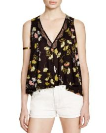 Free People Love Potion Printed Top at Bloomingdales