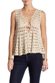 Free People Macrame Tank at Nordstrom Rack