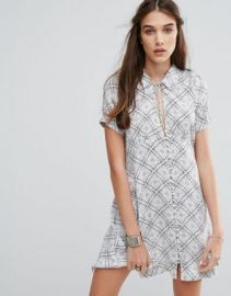 Free People Melody Printed Dress at asos com at Asos