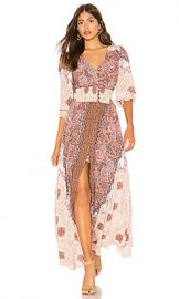Free People Mexicali Rose Maxi Dress in Ivory from Revolve com at Revolve