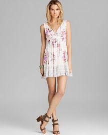 Free People Mini Dress - Printed Spring Fever at Bloomingdales