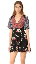 Free People Mix It Up Printed Mini Dress at Shopbop