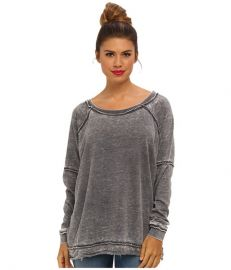 Free People Never Can Tell Pullover Grey at 6pm
