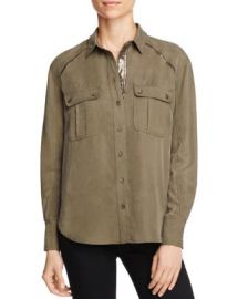 Free People Off-Campus Cargo Shirt at Bloomingdales