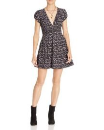Free People Pretty Baby Printed Mini Dress at Bloomingdales