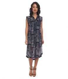 Free People Printed Check Chiffon Mercer Street Maxi Midnight Combo at Zappos