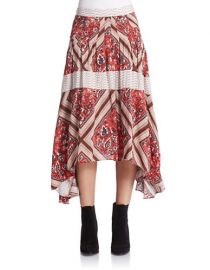 Free People Printed Paradise Skirt at Lord & Taylor