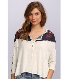 Free People Rio Henley at 6pm